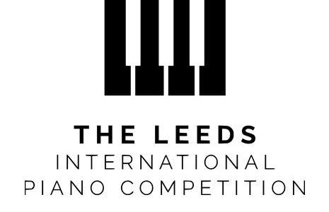 Leeds piano compeition logo with piano keys