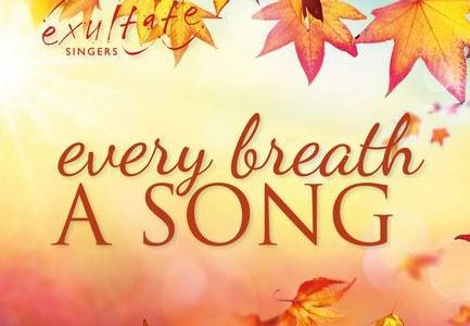 every breath a song logo with autumn leaves